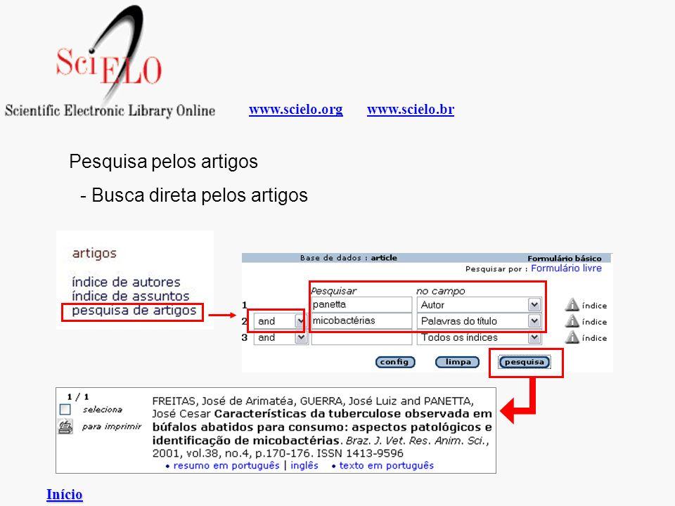 www.scielo.brwww.scielo.org Pesquisa pelos artigos - Busca direta pelos artigos Início