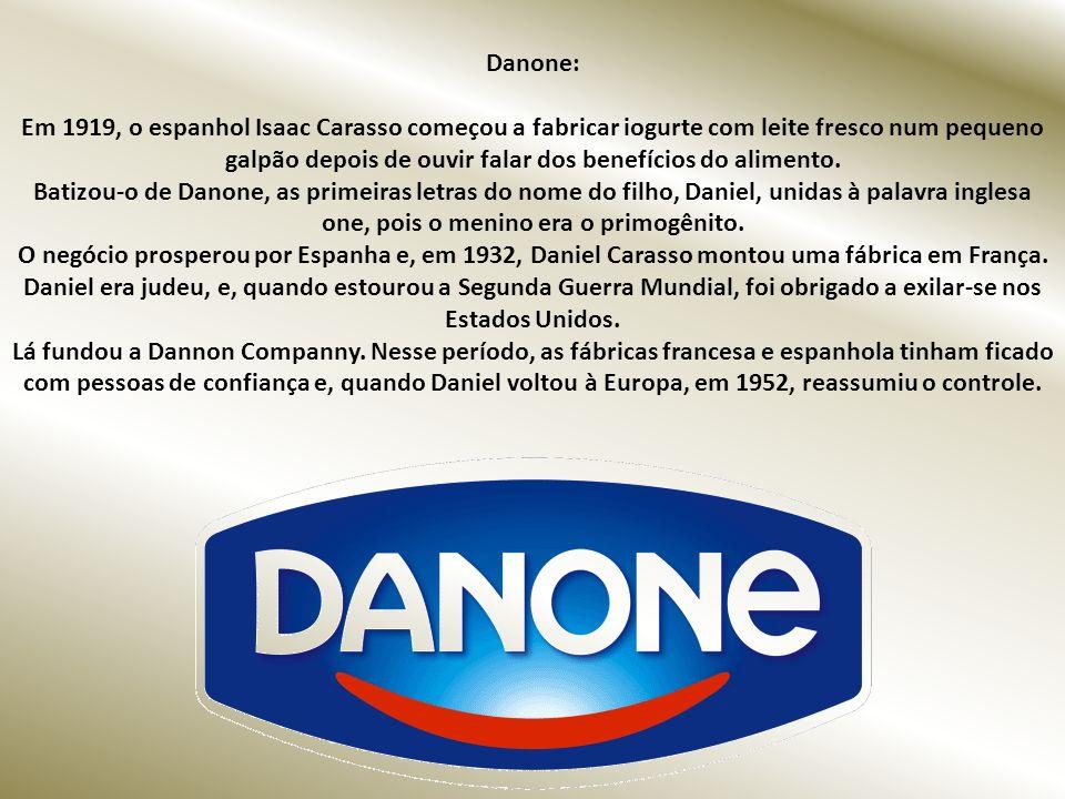 Farinha Láctea Nestlé: Em 1867, Henri Nestlé, um químico alemão que morava em Vevey, na Suíça, descobriu um mercado emergente: o dos alimentos infanti