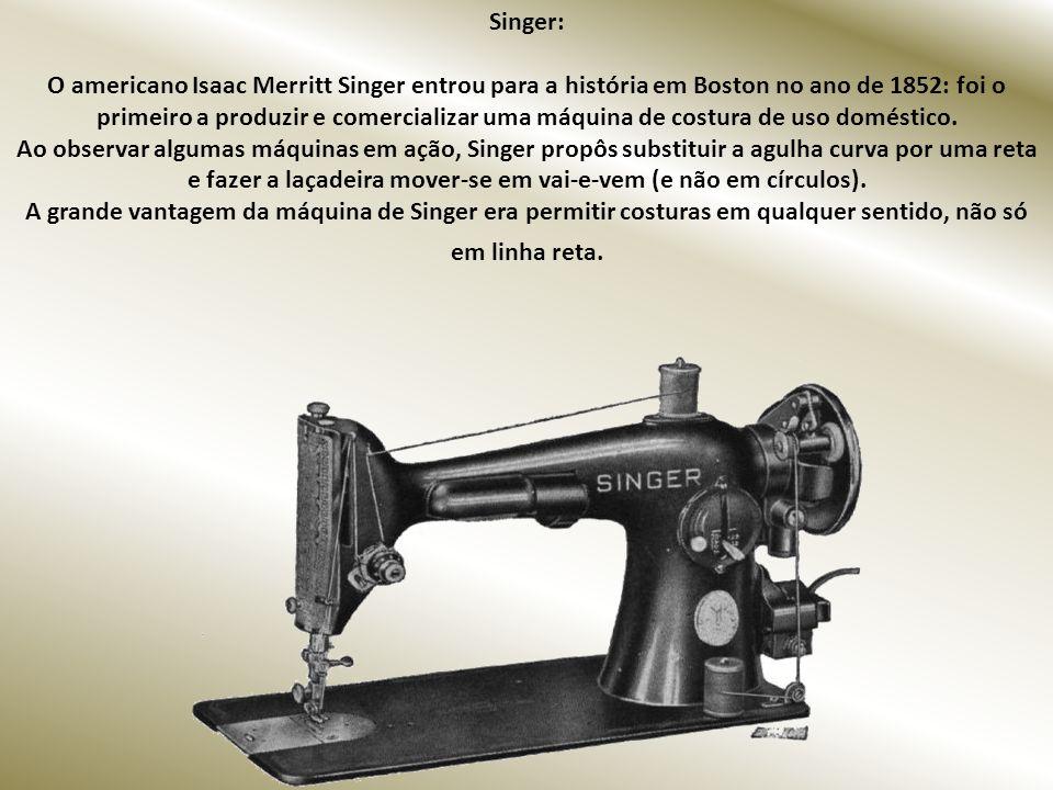 Parker: George Parker, jovem professor de telegrafia de Wisconsin, EUA, criou um novo modelo de caneta em 1888. A revolucionária Parker 51, com a pena