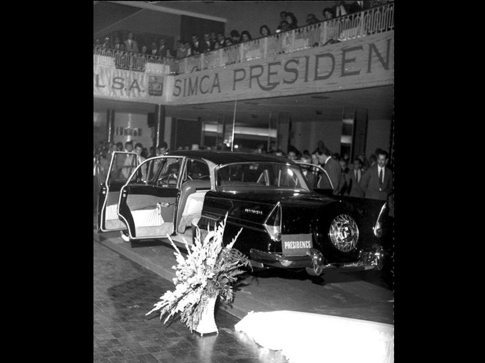 Lançamento da linha Présidence no Clube Transatlântico, São Paulo, 30 de agosto de 1960