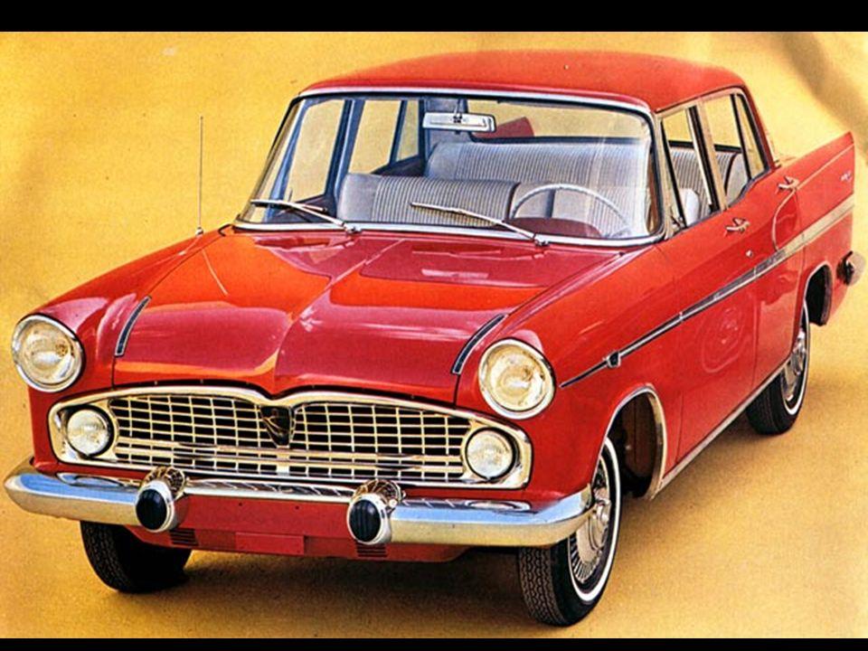 Simca Chambord 1966 2ª série Linha Emi-Sul propaganda oficial da fábrica na Revista