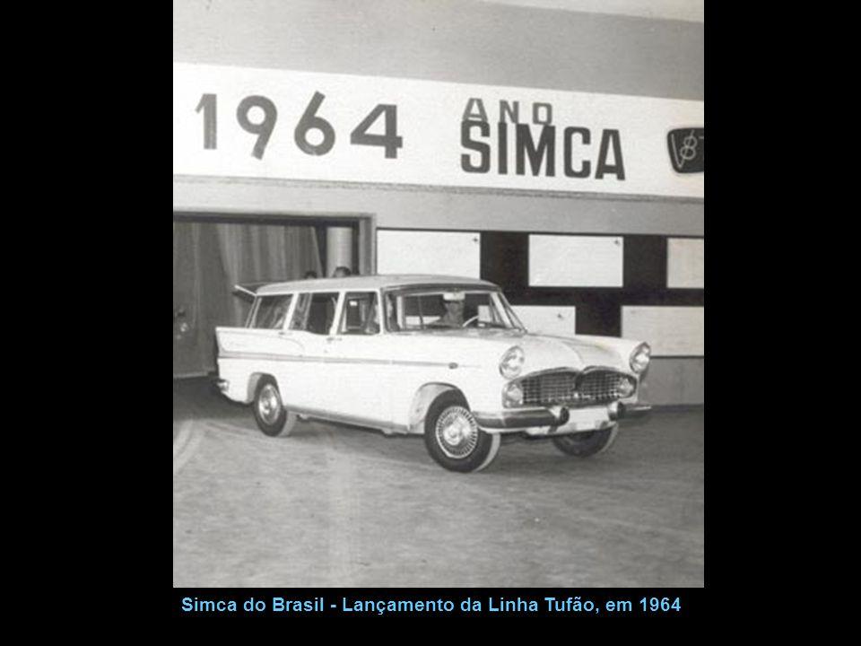 Simca Rallye Tufão - Propaganda oficial da fábrica Revista Quatro Rodas de maio de 1964