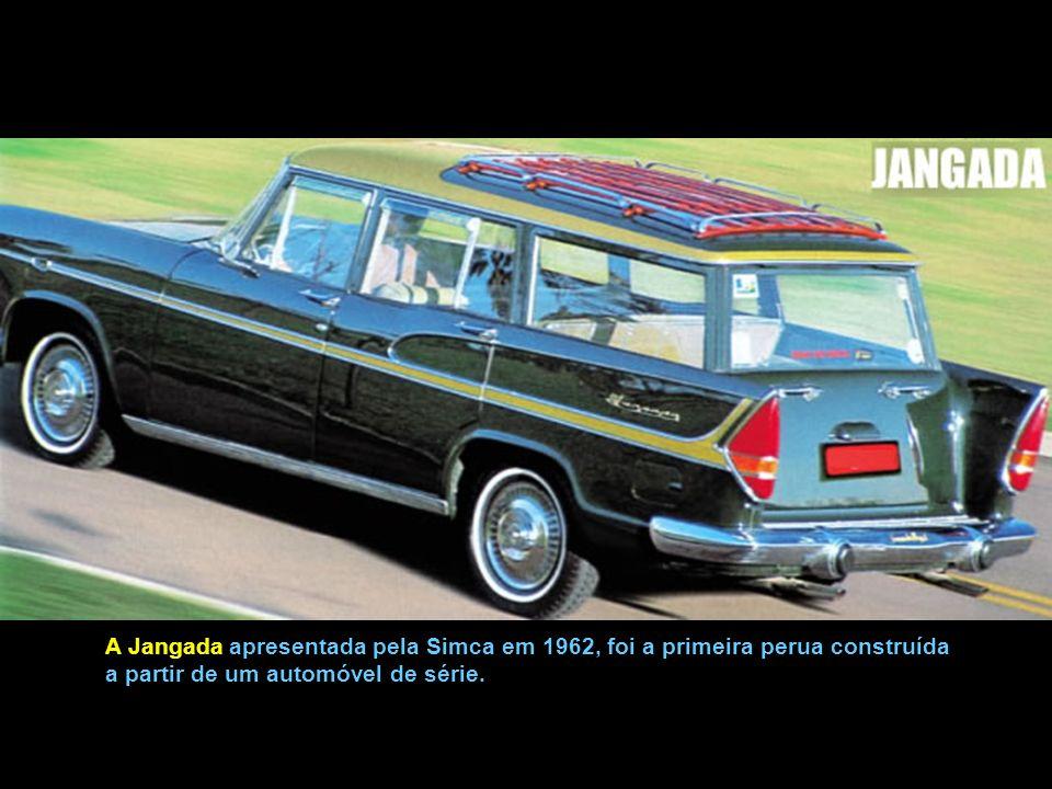 Simca do Brasil - Lançamento da Linha Tufão, em 1964