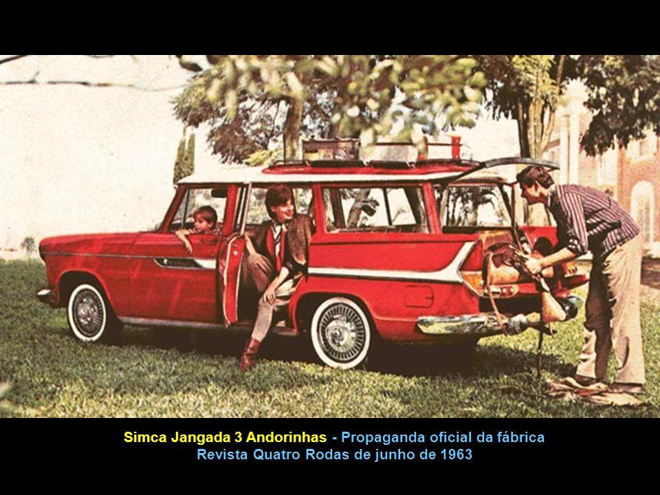 A Jangada apresentada pela Simca em 1962, foi a primeira perua construída a partir de um automóvel de série.