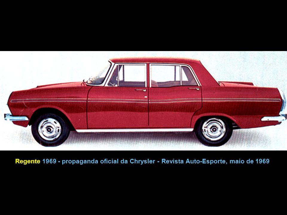 Esplanada produzido pela Chrysler, capa da Revista Mecânica Popular em abril de 1968