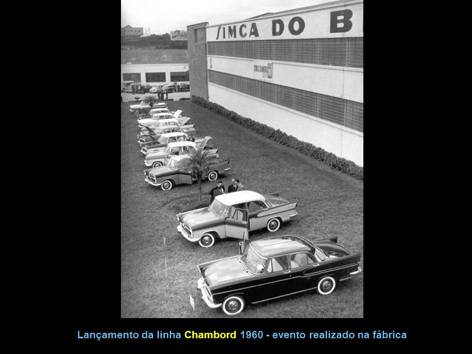 Chambord 1964 2ª série e 1965 1ª série