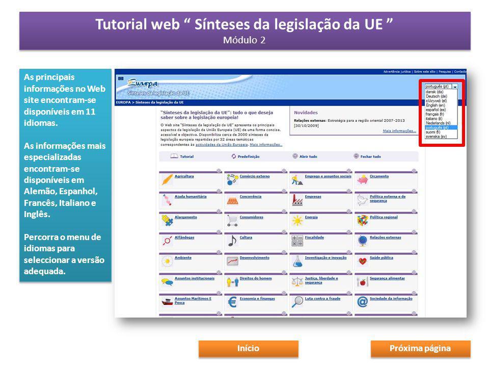 Será possível encontrar outras leis relevantes e documentos de trabalho da Comissão relacionados directamente com o texto resumido na categoria «Actos relacionados» Verifique a data do folheto informativo para saber quando se fez a última actualização.
