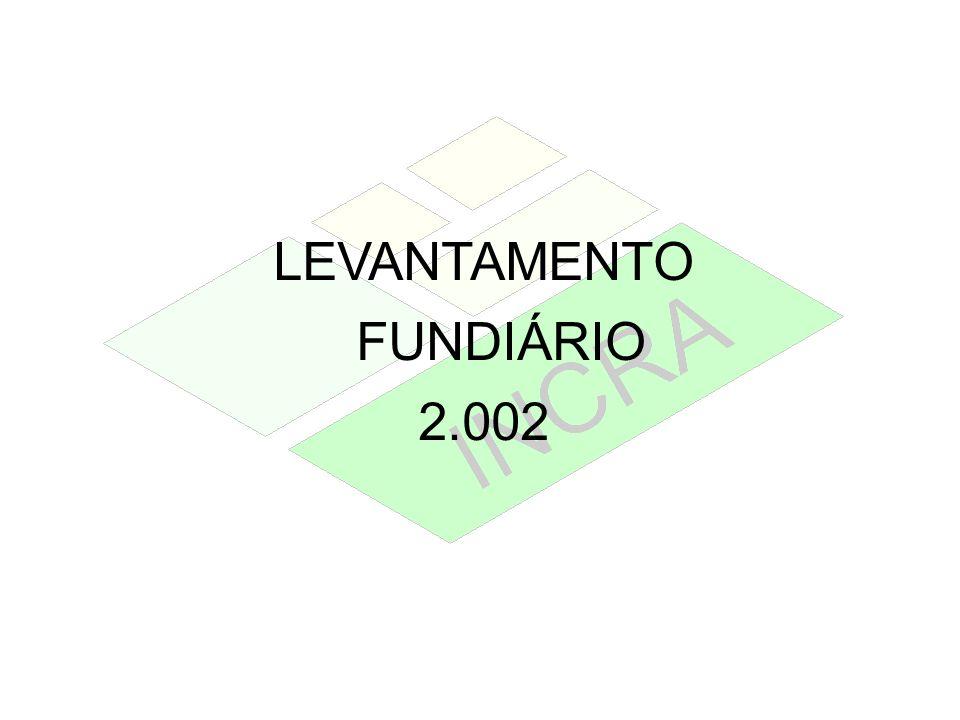 LEVANTAMENTO FUNDIÁRIO 2.002