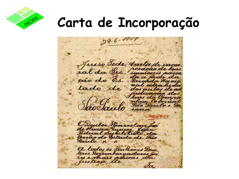 Carta de Incorporação