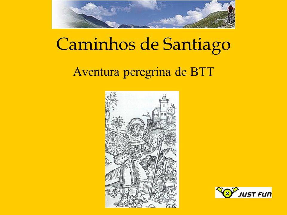 Caminhos de Santiago Aventura peregrina de BTT