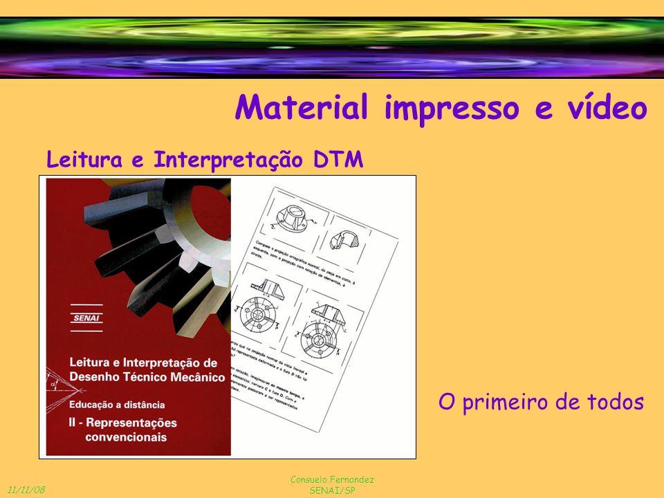 11/11/08 Consuelo Fernandez SENAI/SP Material impresso e vídeo Leitura e Interpretação DTM O primeiro de todos