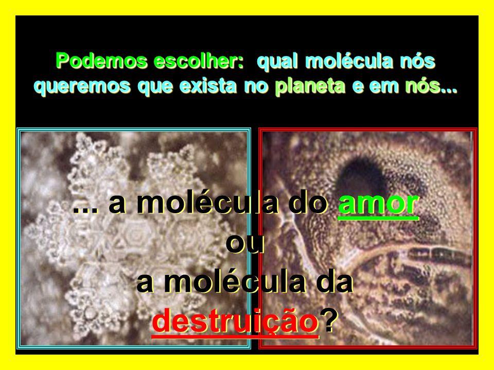 Molécula de água de um rio poluído. Molécula de água de um rio poluído. ? ?