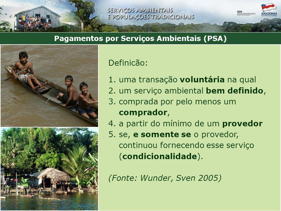Operacionalização do Bolsa Floresta Social = R$ 4 mil/ comunidade/ano Renda = R$ 4 mil/ comunidade/ano Associação = 10% de todas as bolsas da UC Familiar = R$ 50 / mês