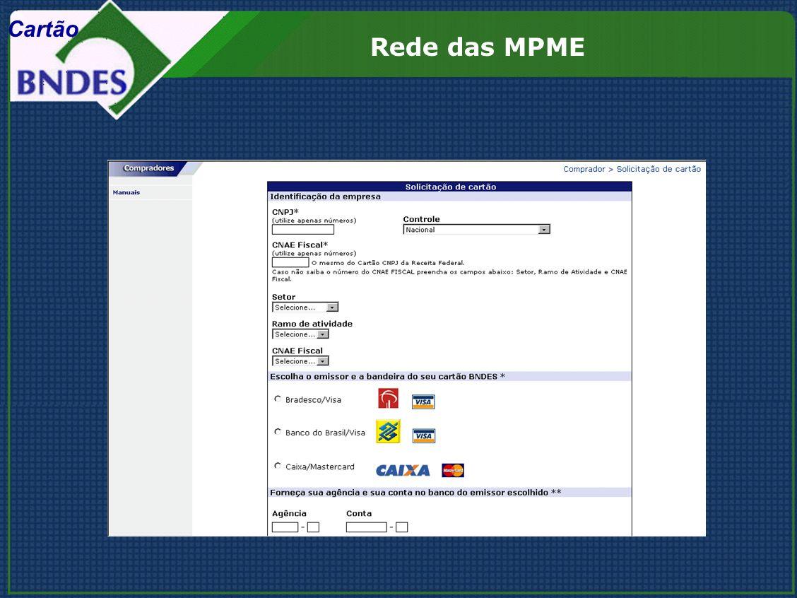 Rede das MPME Cartão