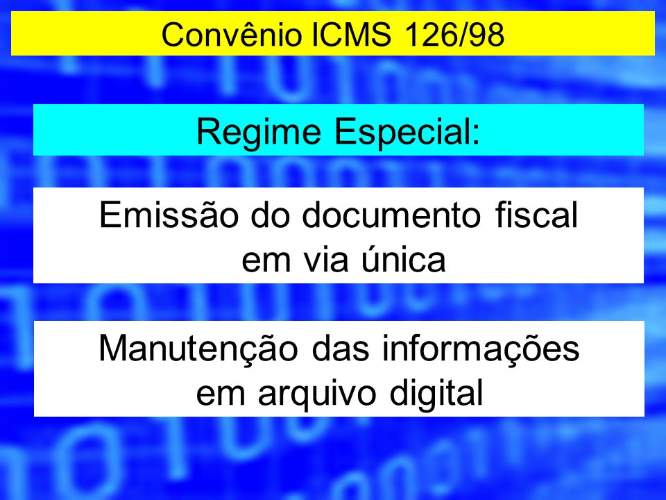 Informações do arquivo Mestre A escrituração é feita com base nos valores do arquivo Mestre.