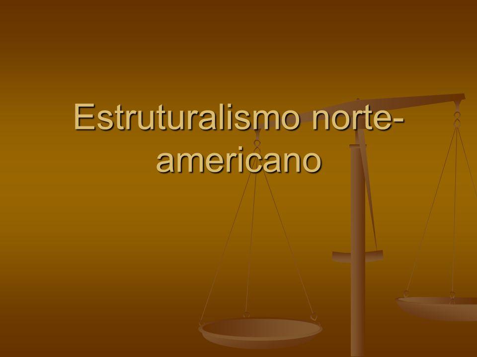 Estruturalismo norte- americano