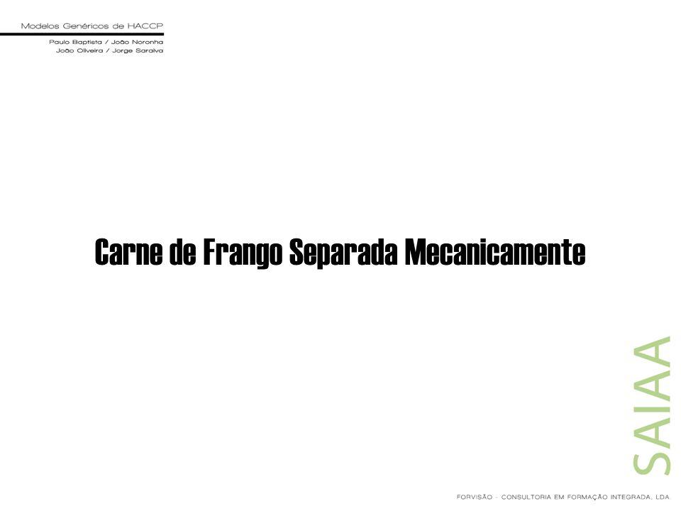 Carne de Frango Separada Mecanicamente