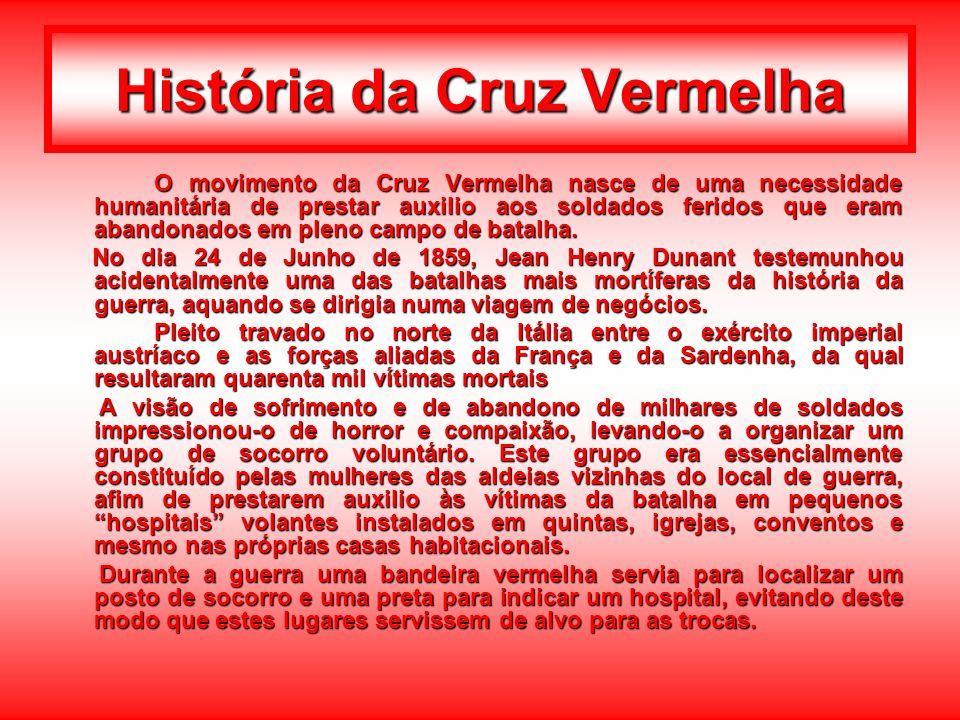 Crescente Vermelho À Cruz Vermelha juntou-se o Crescente Vermelho em 1876, na sequência da guerra entre a Rússia e a Turquia.