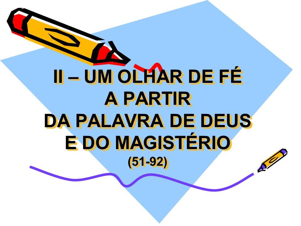 I – Realidade (ANEXO 3) Na Igreja do Brasil, muitas forças pastorais atuam junto aos jovens e com eles. Cada uma delas tem a sua própria riqueza e con