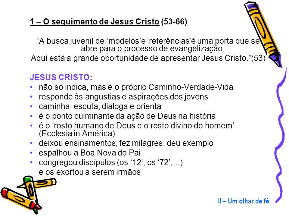 Para nós, ser cristão é, fundamentalmente: conhecer, optar e seguir a Jesus Cristo viver em comunidade (Igreja) trabalhar pelo Reino e pela Sociedade