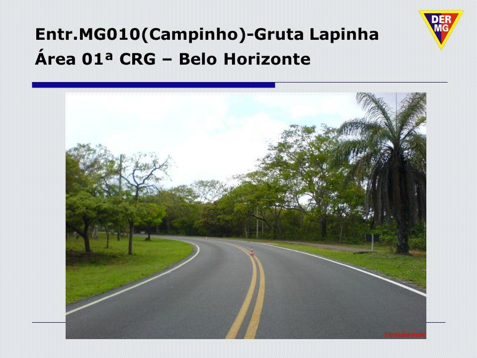 Entr.MG010(Campinho)-Gruta Lapinha Área 01ª CRG – Belo Horizonte