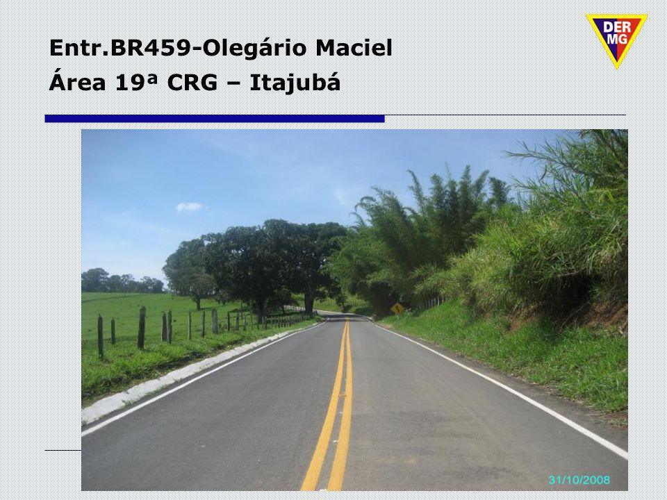 Entr.BR459-Olegário Maciel Área 19ª CRG – Itajubá