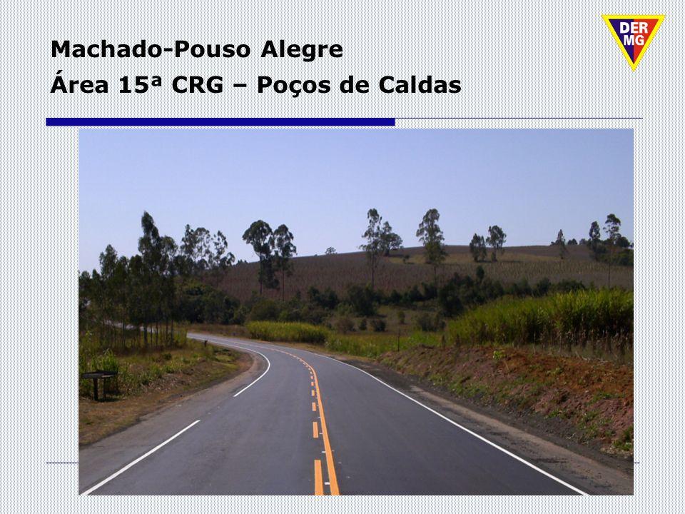 Machado-Pouso Alegre Área 15ª CRG – Poços de Caldas