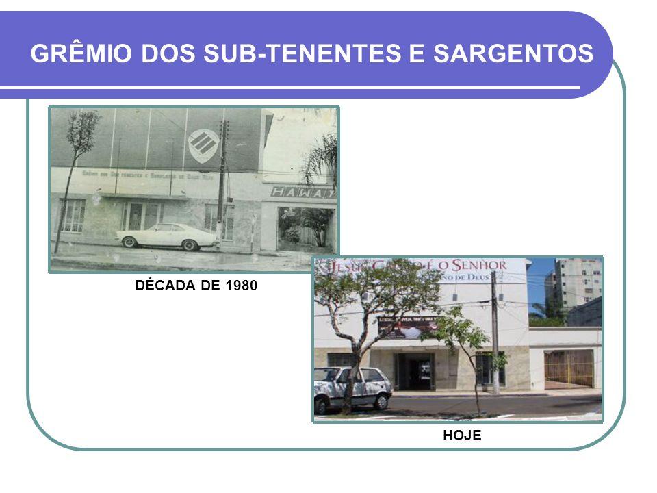 A SEDE DEFINITIVA, ACIMA, FOI CONSTRUÍDA ENTRE 1957 A 1961 HOJE