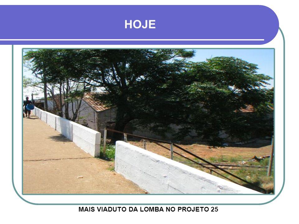 Década de 1970 - DEPÓSITOS DA COTRICRUZ À ESQUERDA, VIADUTO DA LOMBA EM CONSTRUÇÃO