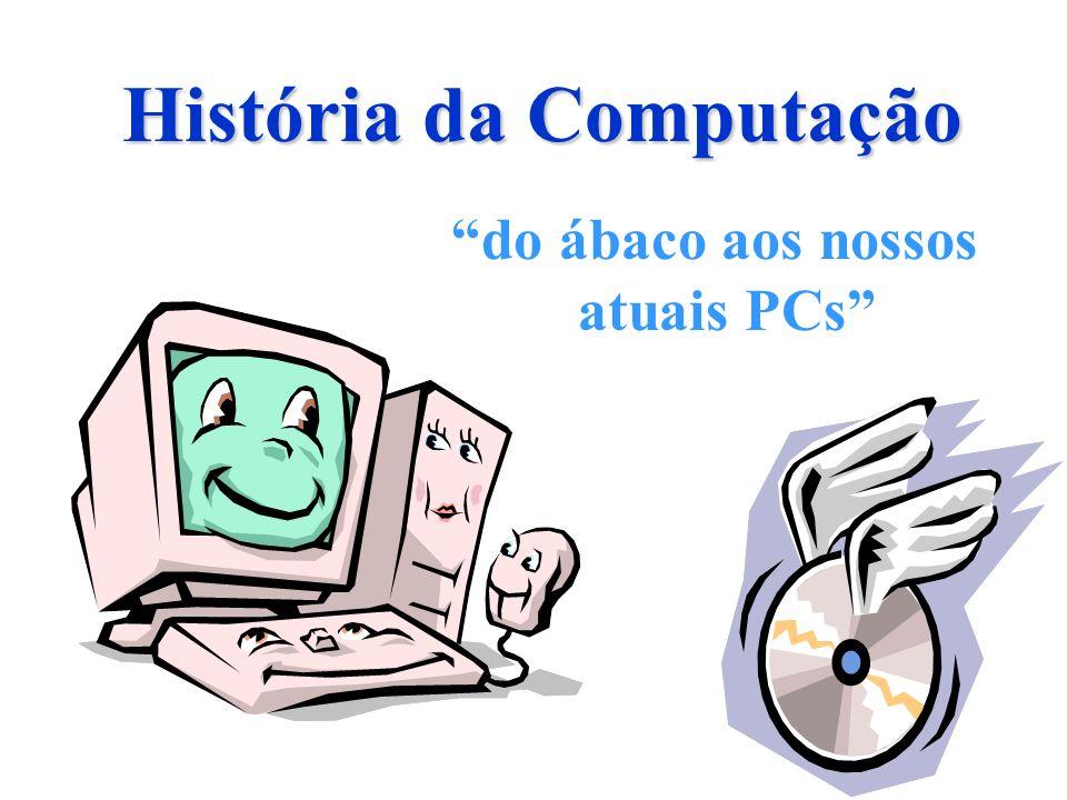 História da Computação do ábaco aos nossos atuais PCs