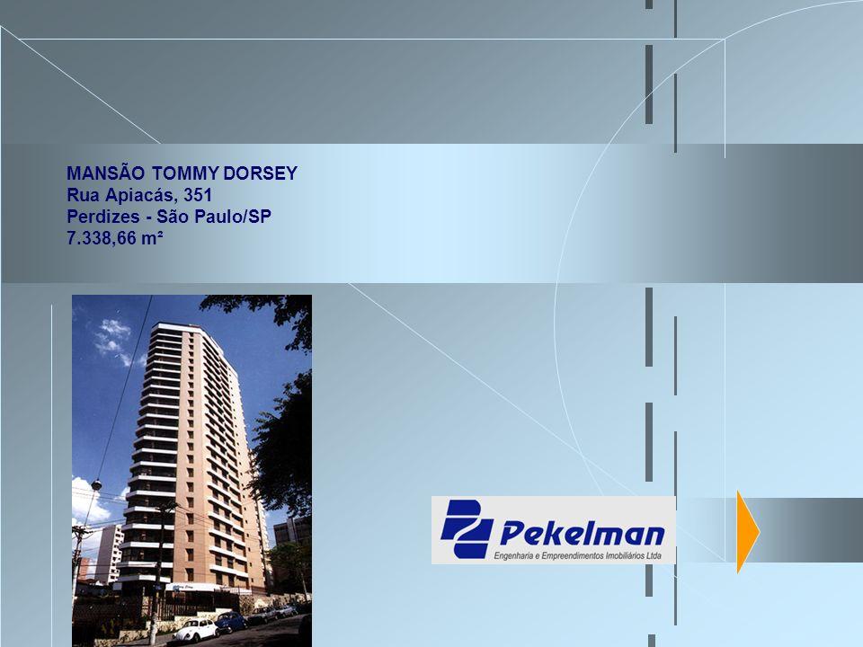 MANSÃO TOMMY DORSEY Rua Apiacás, 351 Perdizes - São Paulo/SP 7.338,66 m²
