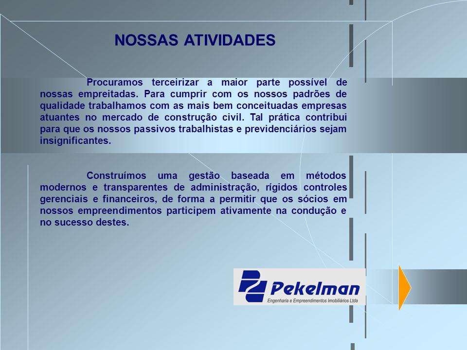 A Pekelman foi fundada em 1979 sob a denominação de Tema Construtora Ltda..