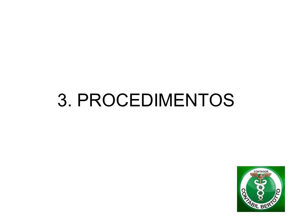 3. PROCEDIMENTOS