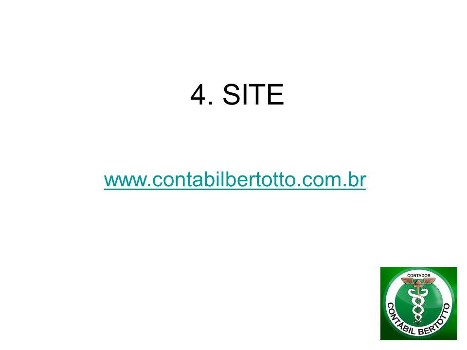 4. SITE www.contabilbertotto.com.br