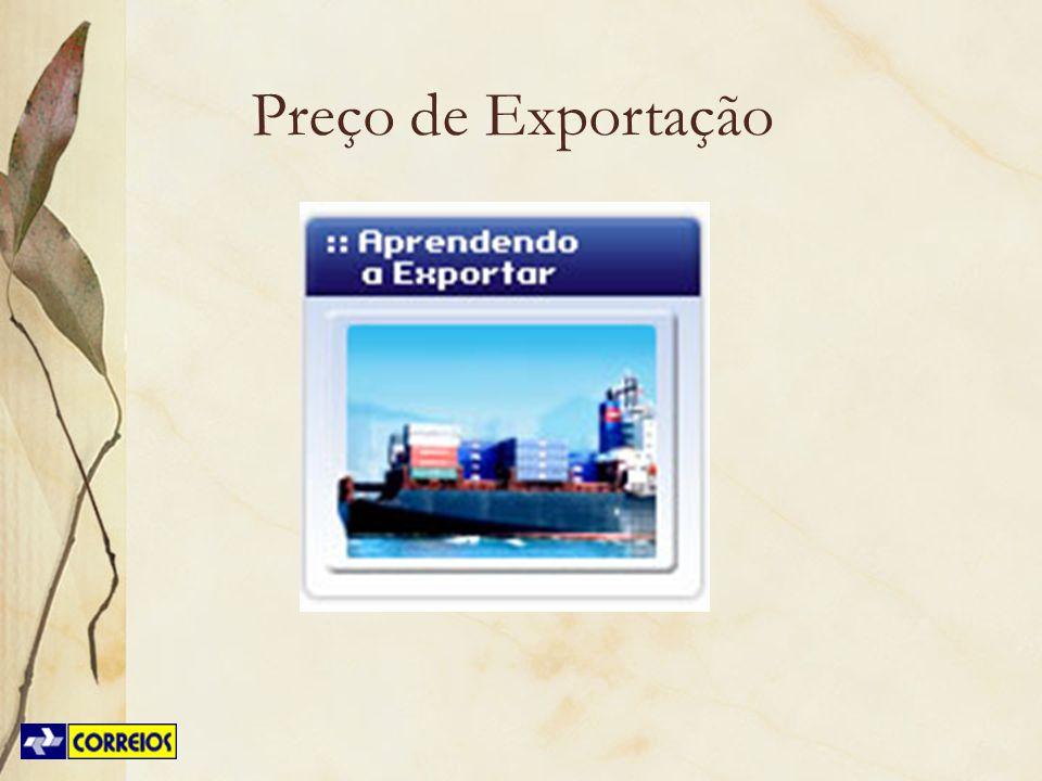 Preço de Exportação