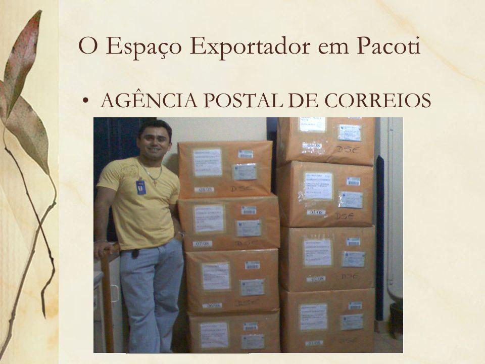 O Espaço Exportador em Pacoti AGÊNCIA POSTAL DE CORREIOS