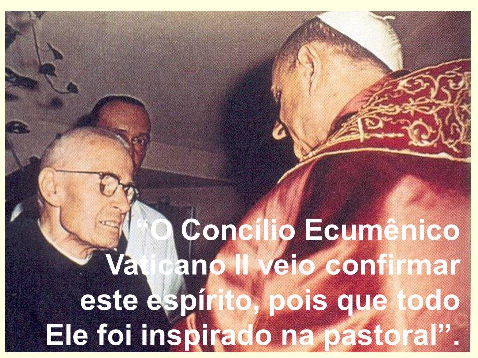 No II Concilio Ecumênico do Vaticano, a palavra que mais se ouvia na basílica de S. Pedro era: