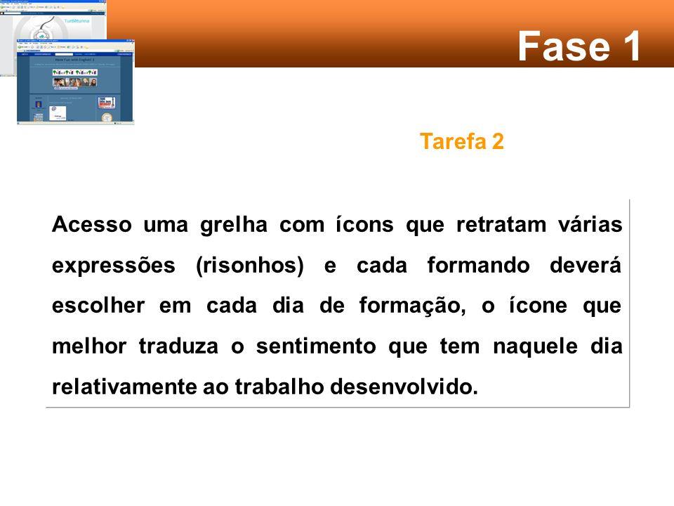 Fase 3 Tarefa 1 A partir da Frase Eu não sabia que … cada formando deverá completar a mesma, introduzindo um aspecto que considere ter sido uma novidade para si no período de aprendizagem que já experimentou.