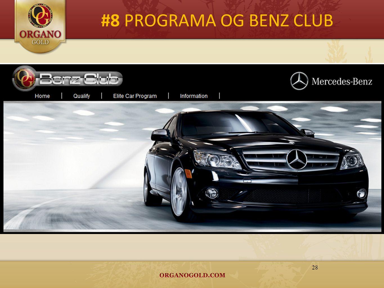 #8 PROGRAMA OG BENZ CLUB 28