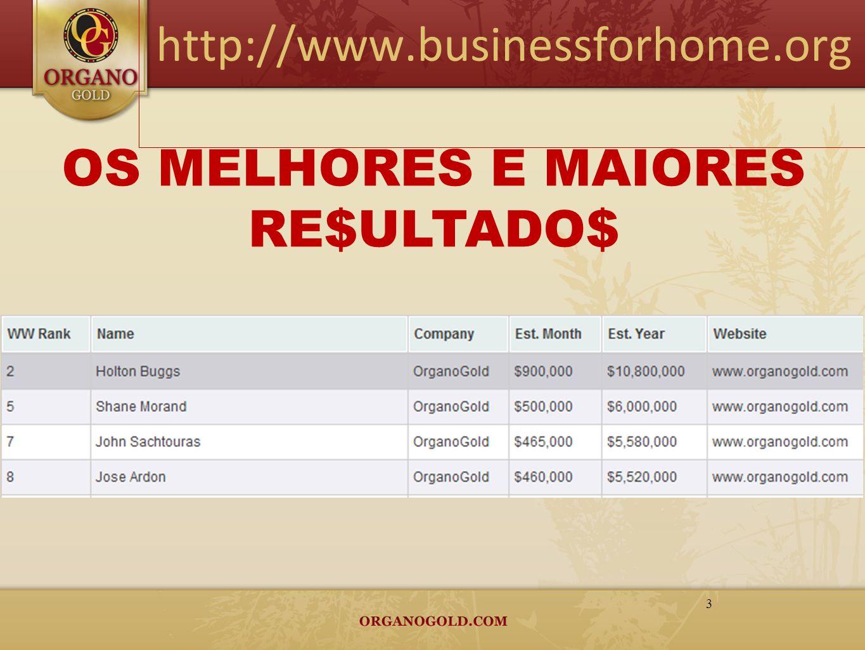 http://www.businessforhome.org 3 OS MELHORES E MAIORES RE$ULTADO$