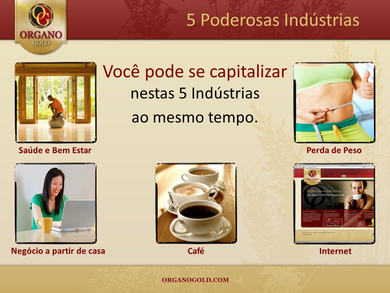 O café é a bebida mais consumida no mundo depois da água.