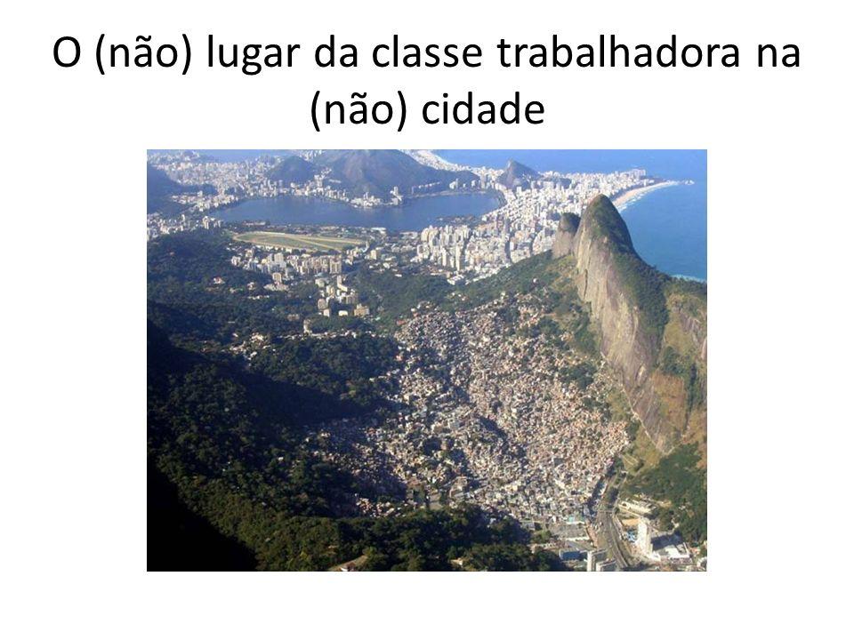 CIDADE NA CONJUNTURA ATUAL BRASILEIRA- Reestruturação produtiva (globalização) sobre herança colonial.