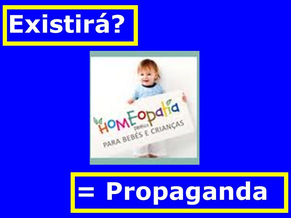 Existirá? = Propaganda