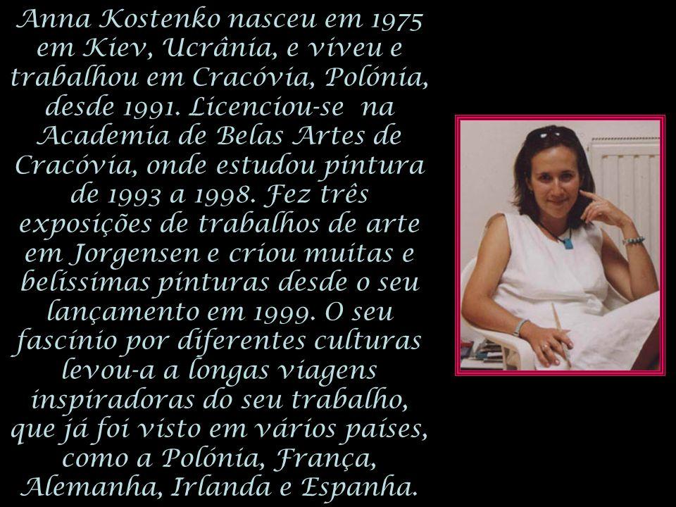 Anna Kostenko nasceu em 1975 em Kiev, Ucrânia, e viveu e trabalhou em Cracóvia, Polónia, desde 1991.