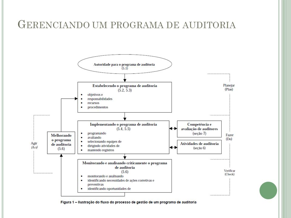 G ERENCIANDO UM PROGRAMA DE AUDITORIA