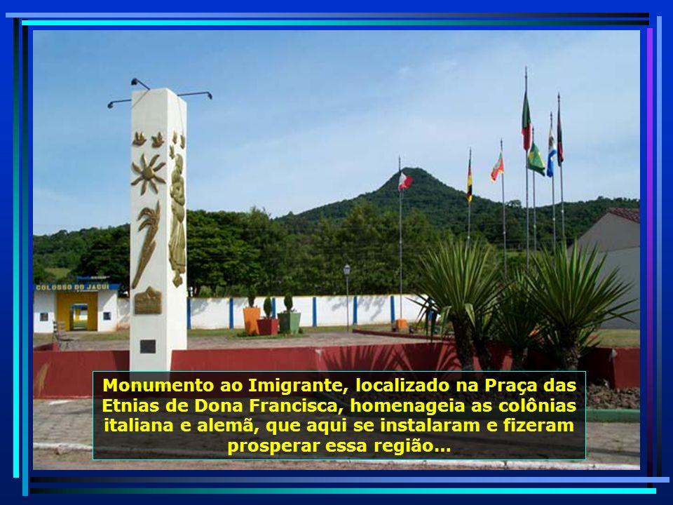 Localizada a 254 km de Porto Alegre, Dona Francisca, cujo nome homenageia a esposa de seu fundador, se emancipou em 17.07.1965…