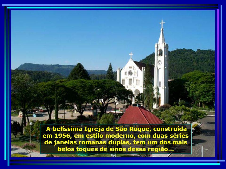 Outra belissima cidade, Faxinal do Soturno, município com 7 mil hab., próxima a S. J. Polêsine, se destaca por suas igrejas e paisagens encantadoras…