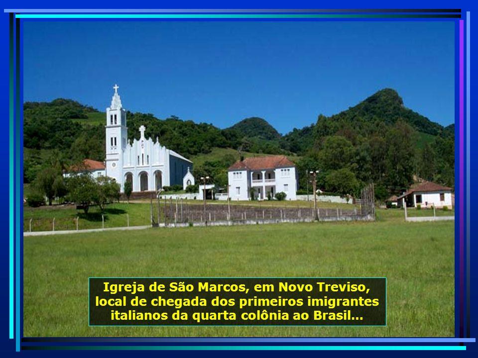 Novo Treviso, um pedacinho da Itália no Brasil, rodeada de montanhas, terra fértil, água abundante, clima de montanha…