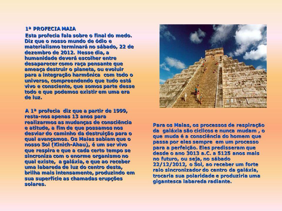 A primeira notícia que se tem dos Maias data do ano 600 a.C., tempo em que apareceram simbologias esculpidas em pedras. No ano 300 d.C. começa o desen