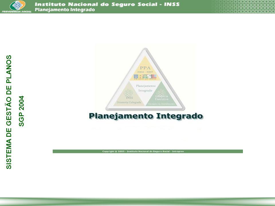 SISTEMA DE GESTÃO DE PLANOS SGP 2004